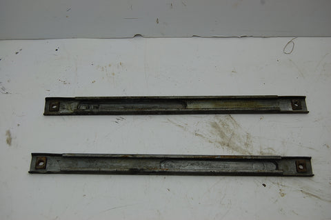 1963 63 Pontiac Catalina Window Regulator Track Guide LH RH 2 Door Driver Pass
