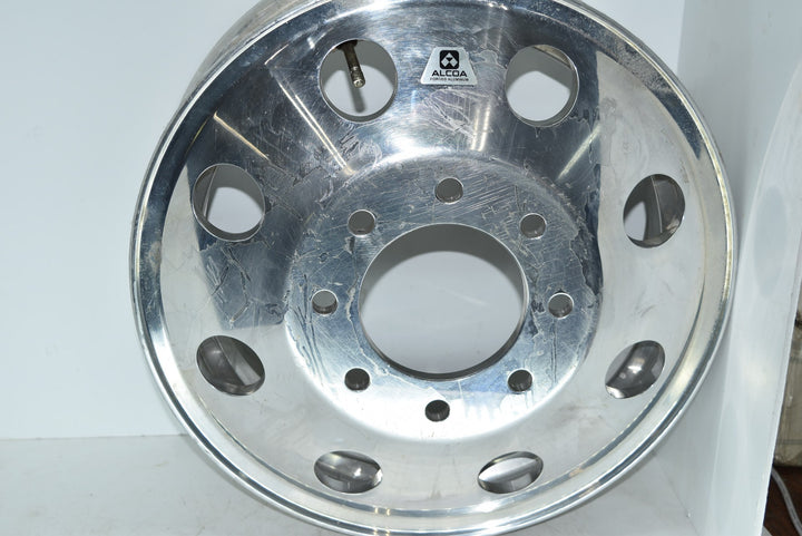 "16"" x 6"" 8x6.5 Lug Alcoa Rim Unused Tape Residue 160231"