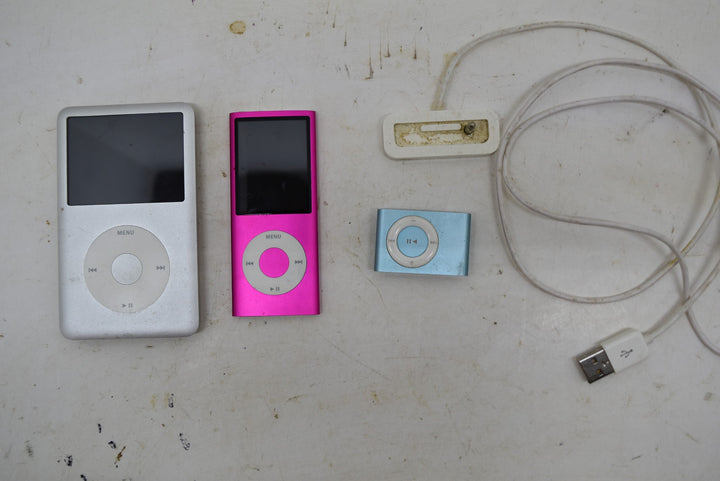 Lot of IPods Shuffle Nano Untested Music Player iPod With MP3