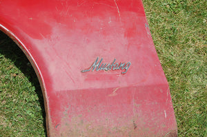 1970 Ford Mustang Driver Front Fender Red Original Left  Boss Mach 1