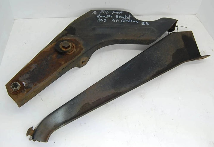Passenger Side Bumper Mounting Bracket off of a 2-door 1963 Pontiac Catalina