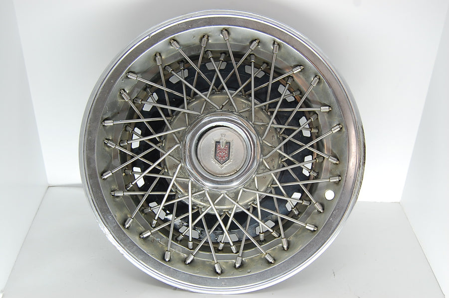 "Monte Carlo Knight Badge Emblem 15"" Wire Hubcap Chevrolet Original Shield Rims"