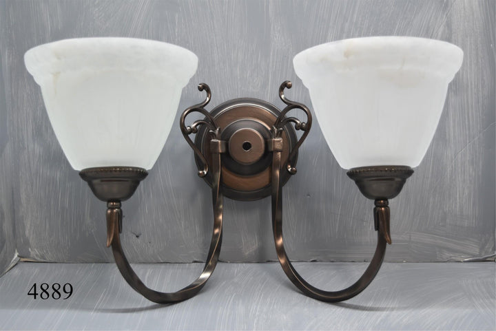 International Lighting Wall Sconce Oil Rubbed Bronze 2 Light New In Box Decor