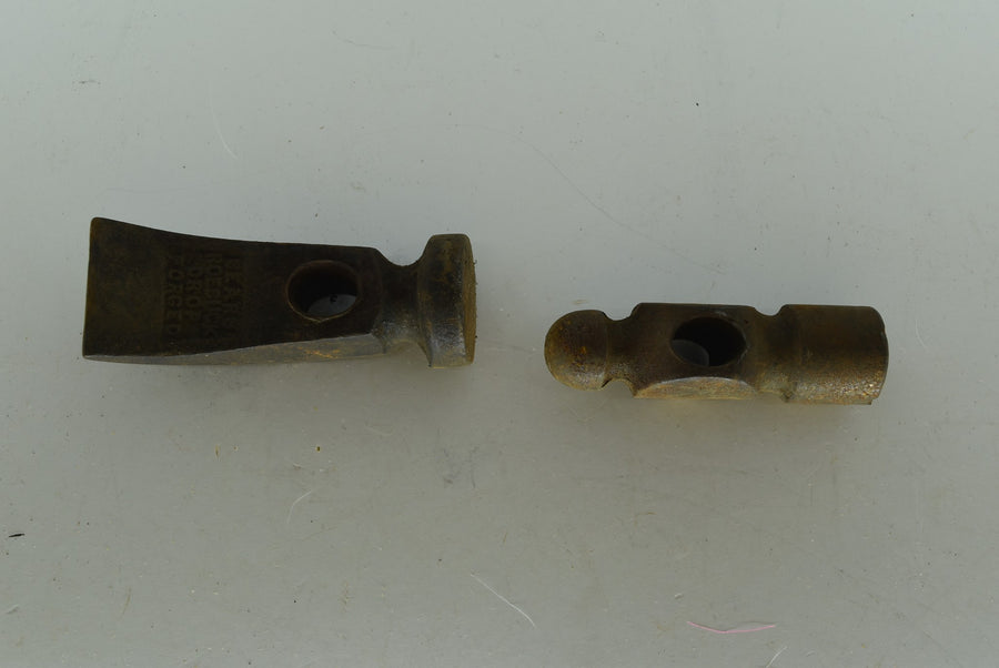 Lot of 2 Vintage/Antique Sears Roebuck Drop Forged Hammer Head Claw Collectible