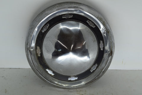 1955 1956 Chevrolet Bel Air Dog Dish Hubcap Wheel Cover Chevy 55 56 OEM Original