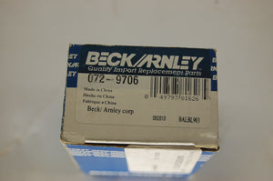 Beck Arnley Wheel Cylinder 072-9706 Mazda Tribute 2008-2011 New In Box