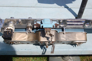 1963 Pontiac Catalina Dash Chrome Original Housing GM