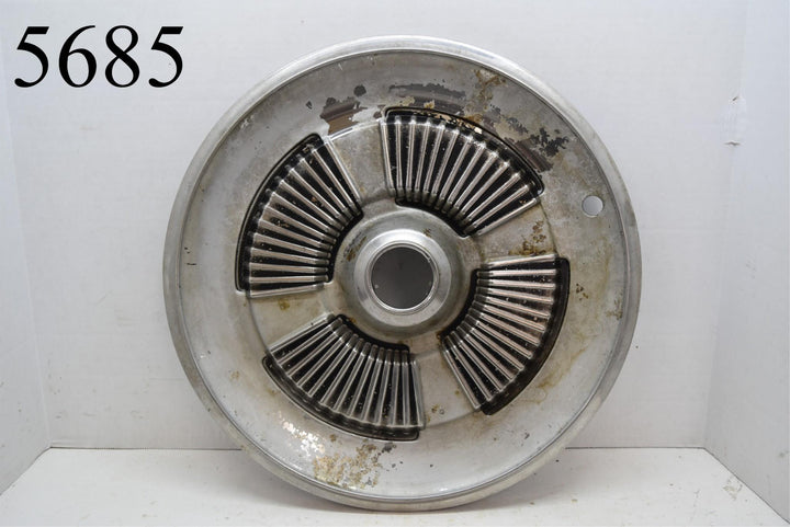 Original 1965 Ford Galaxie Hubcap Wheel Cover Hub Cap No Center Emblem
