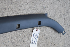 1997 Isuzu Trooper RH Passenger A Pillar Windshield Trim Interior Gray