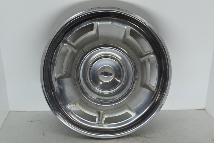 "1967 67 Chevy Camaro Hubcap 14"" Original OEM Chevrolet Wheel Cover Chrome"