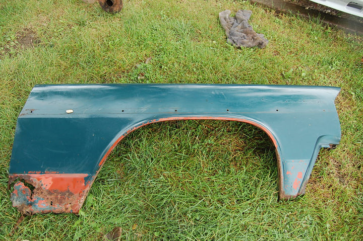 1963 Pontiac Catalina RH Passenger 2 Door Fender Blue Original