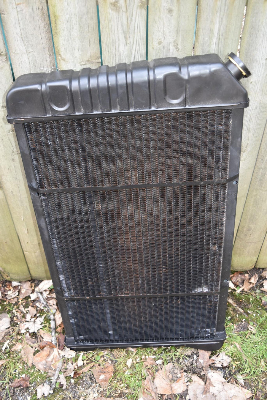New With Tags 1970-1981 Pontiac Firebird Radiator Camaro DAMAGED Aftermarket