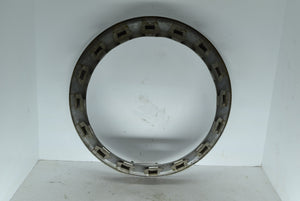 "Chevy GM 15"" Beauty Ring Chevrolet OEM Original Chrome 2"" Deep"