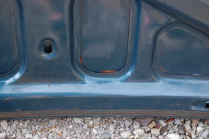 Original 1963 Pontiac Catalina Deck Lid Trunk Blue