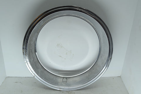 "Chevy GM 15"" Beauty Ring Chevrolet OEM Original Chrome 2.25"" Deep"