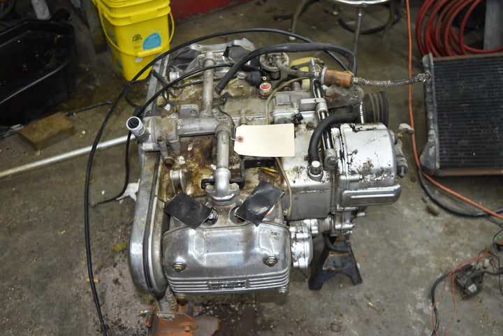 Original 1977 77 Honda GL1000 Engine Motor OEM Goldwing Tested Working Running