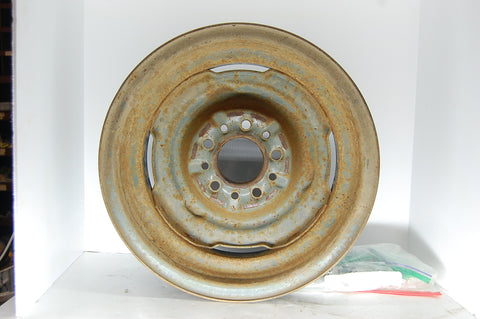 1955-1956 55 56 Mopar Steel Wheel Plymouth Dodge Original OEM 4.5 on 5 Bolt