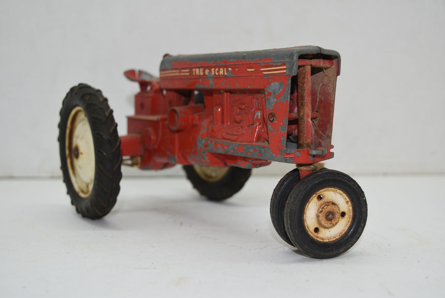 1952 Vintage Tru Scale Tractor Farm Equipment Diecast Toys Tru-Scale Old 50s