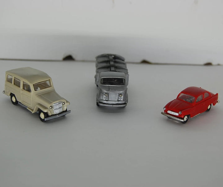 3 used Anguplas Mini toy Cars