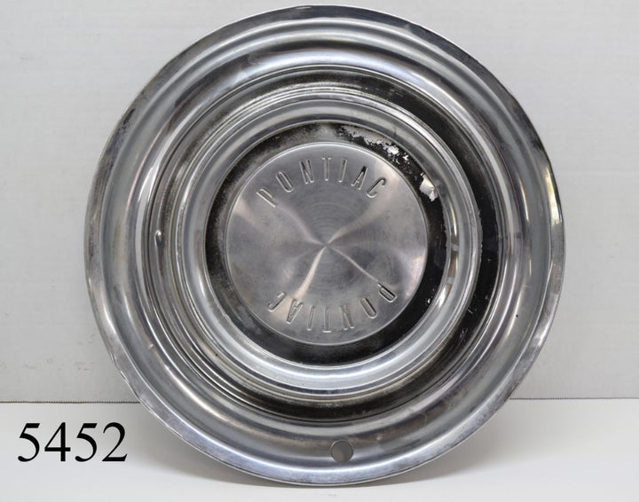 Lyon 1958 Pontiac Star Chief Catalina Wheel Covers Hubcaps Vintage Ratrod