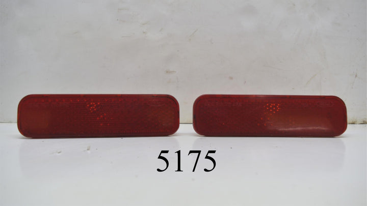 Pair LH RH Side Marker Lights 1972-1973 Gran Torino Sport Ford OEM Rear GTS CJ