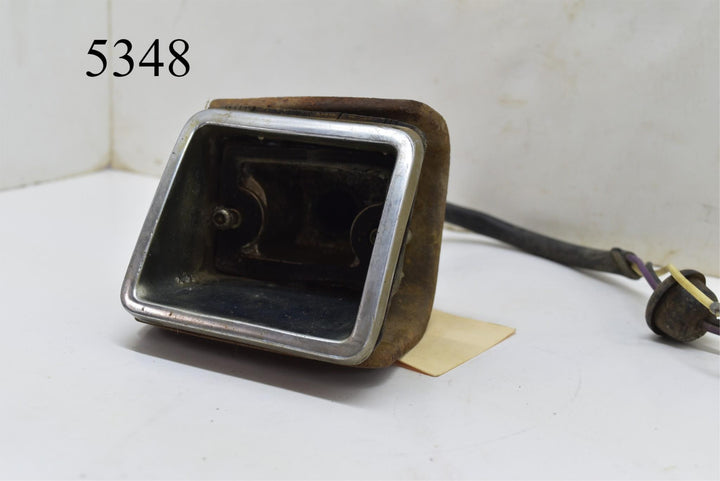 Original 1967 Chevy Camaro Front LH Driver Turn Light Marker RARE
