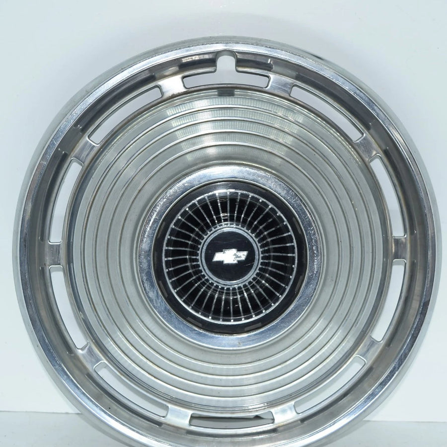 "Original 14"" Hubcap off a 1966 Chevy Chevelle"