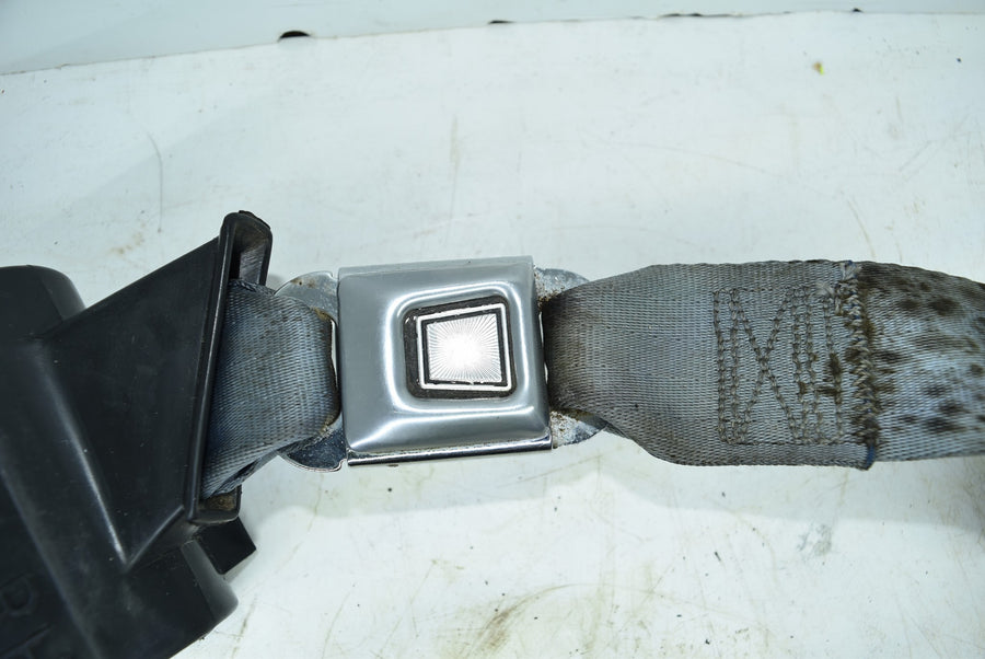1979-1989 Ford Mustang Fox Body Rear RH Seat Belt Retractor + Buckle Blue