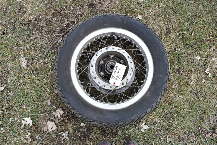 1976-1977 Original Honda GL1000 Rear Wheel Rim Hub Goldwing 1000 OEM 76 77