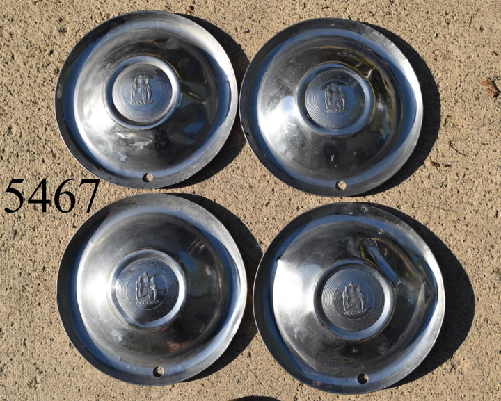 Set of 4 1951-1952 Plymouth Hubcap Wheel Cover Belvedere Fury MOPAR 15