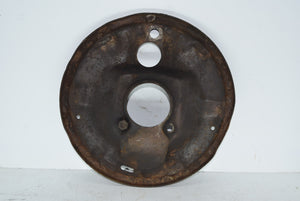 1955-1957 Chevy Belair Bel Air Front Drum Brake Shoe Backing Plate Chevrolet