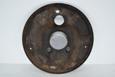 1955-1957 Chevy Belair Bel Air Front Drum Brake Shoe Backing Plate 57 Chevrolet