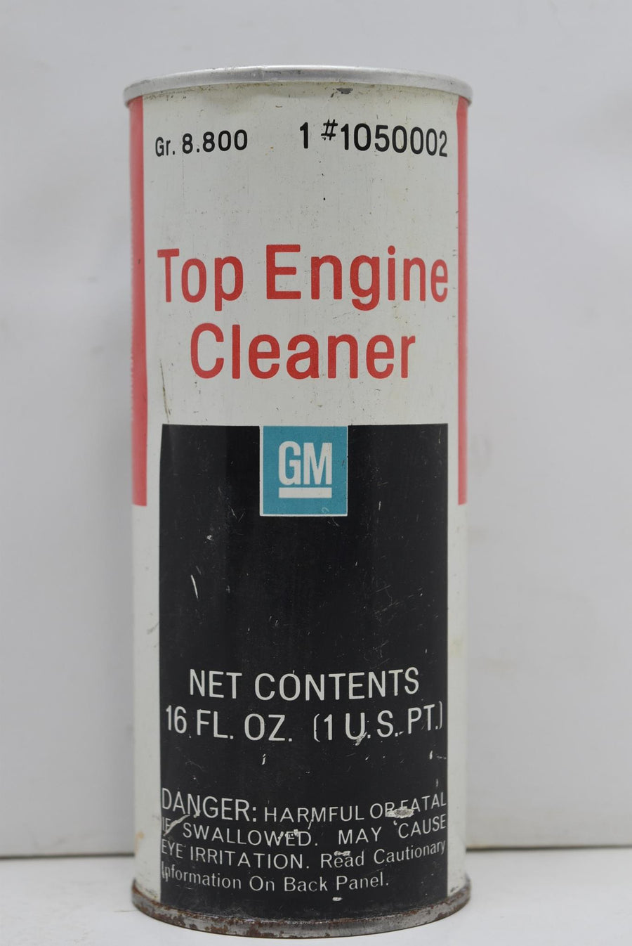 Authentic Vintage GM Top Engine Cleaner Dealership Man Cave Decor NOS FULL CAN