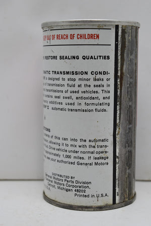 Authentic Vintage GM Automatic Transmission Conditioner Man Cave NOS FULL CAN