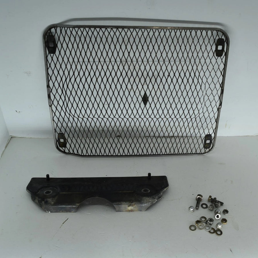 Original Honda GL1000 75-77 Radiator Grille Cover With Bracket And Bolts