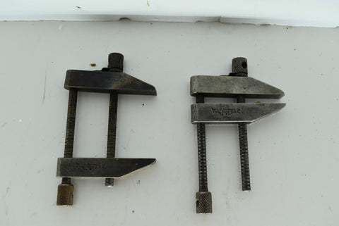 Set of 2 LS Starrett Machinist Parallel Clamps 161-C Tools Die Maker Lathe