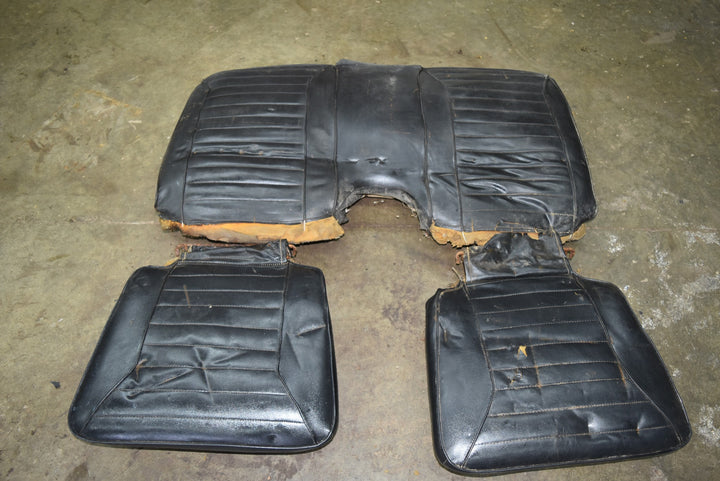 Original 1970-1981 Pontiac Firebird Complete Rear Seat Set OEM 70 71 72 73 74 75