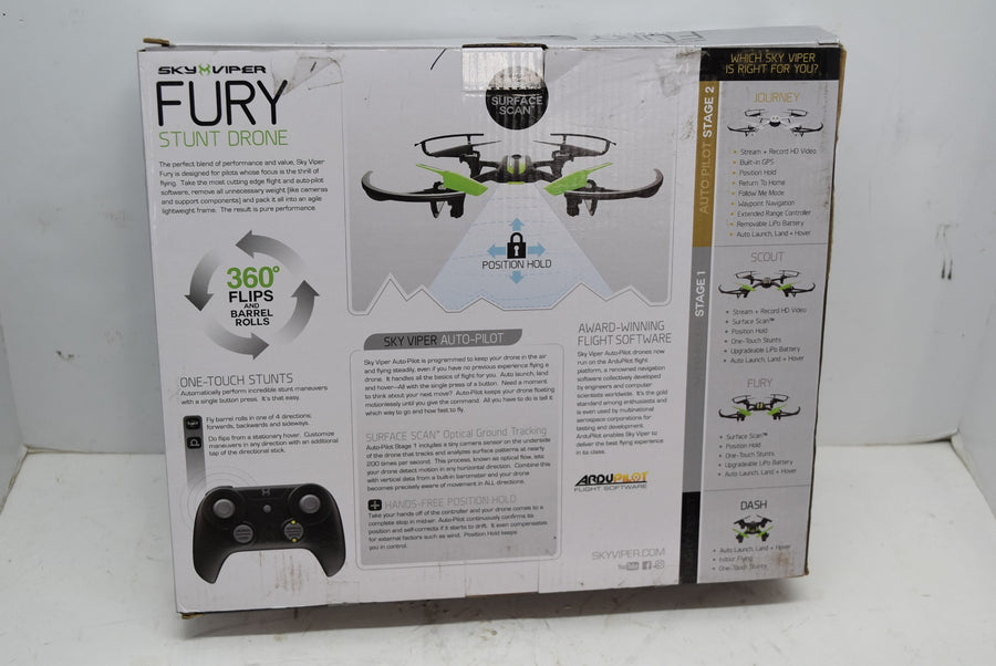 Sky Viper Fury Stunt Drone with ArduPilot Firmware