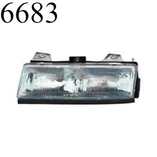 1987 1988 Chevy Corsica Right Passenger Headlight Assembly Head Light 87 88 DEPO
