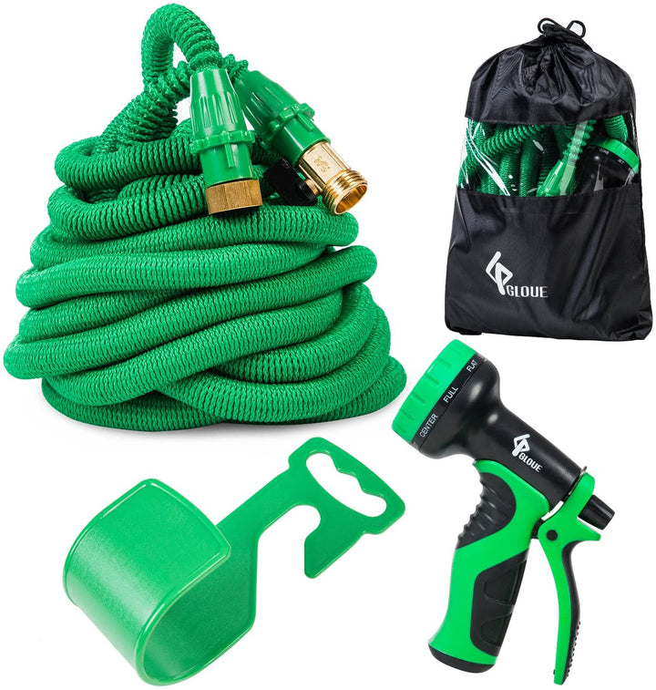 Feet Expandable Flexible Garden Water Hose Retractable Watering Sprayer tools