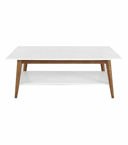 Amherst Mid Century Modern Two-Tone Coffee Table Project 62 Brand New Furniture