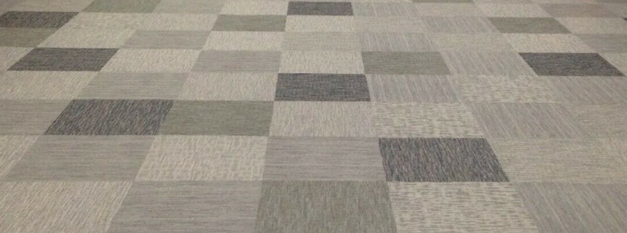 Assorted Gray Grey Family Shaw Carpet Squares 48 SqFt 12 Tiles New
