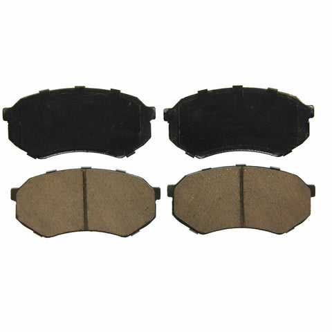 ZD589 Ceramic Disc Pad Set Toyota Pickup 1989-1995 89 90 91 92 93 94