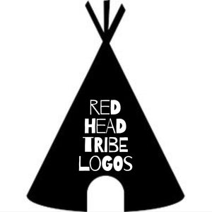 Red Head Tribe Logos