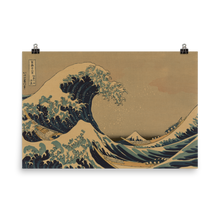 Load image into Gallery viewer, Poster Hokusai Wave
