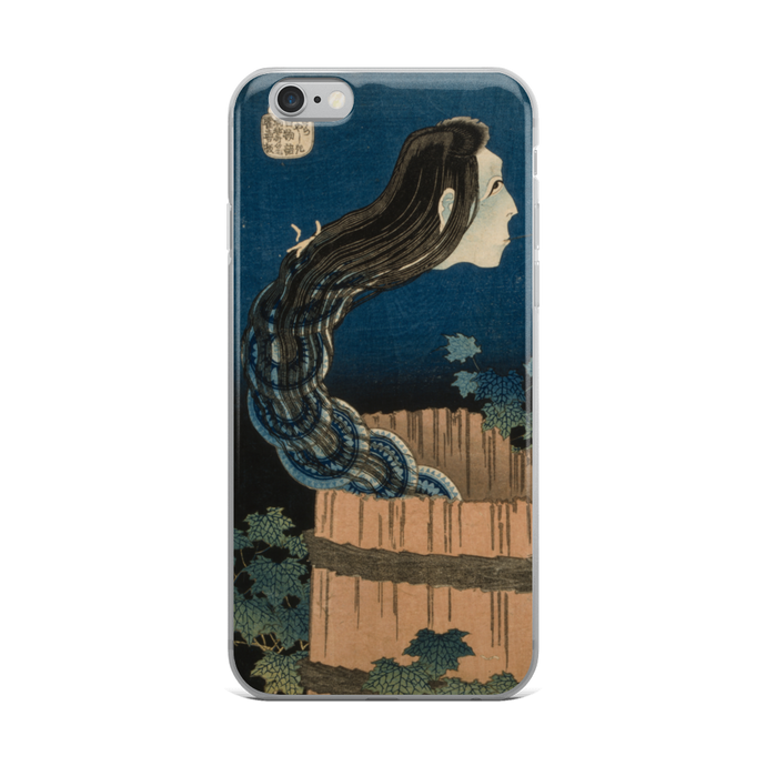 iPhone Case Hokusai The Plate Mansion