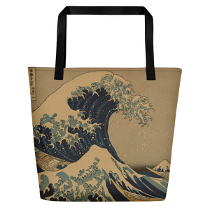 Beach Bag Hokusai Wave