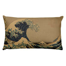 Load image into Gallery viewer, Basic Pillow Hokusai Wave