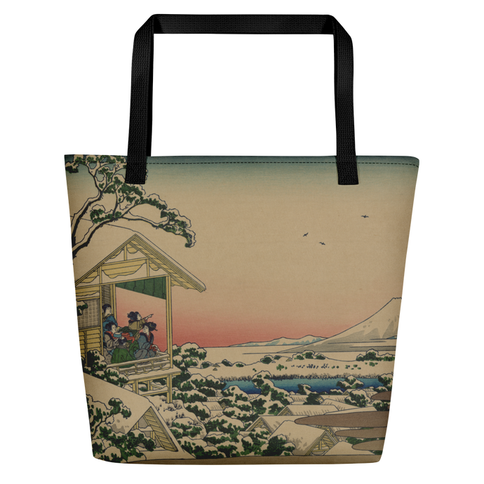 Beach Bag Hokusai Tea House