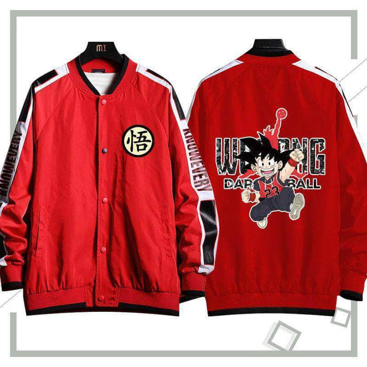 18AW Son Goku Autumn Jacket Red&Black Available
